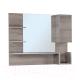 Шкаф с зеркалом для ванной Onika Санторини 90.00 (209022) -