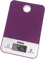 Кухонные весы BBK KS109G (фиолетовый) -
