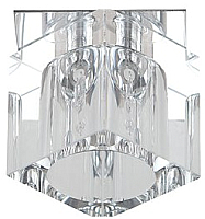 Точечный светильник ЭРА DK24 CH-WH / Б0003802 -
