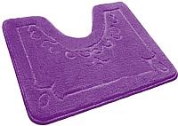 Коврик для туалета Shahintex Эко 60x50 (фиолетовый) -