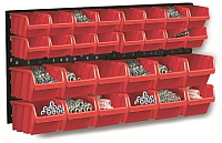 Стенд для инструмента Prosperplast Orderline NTBNP1-R444 (красный) -