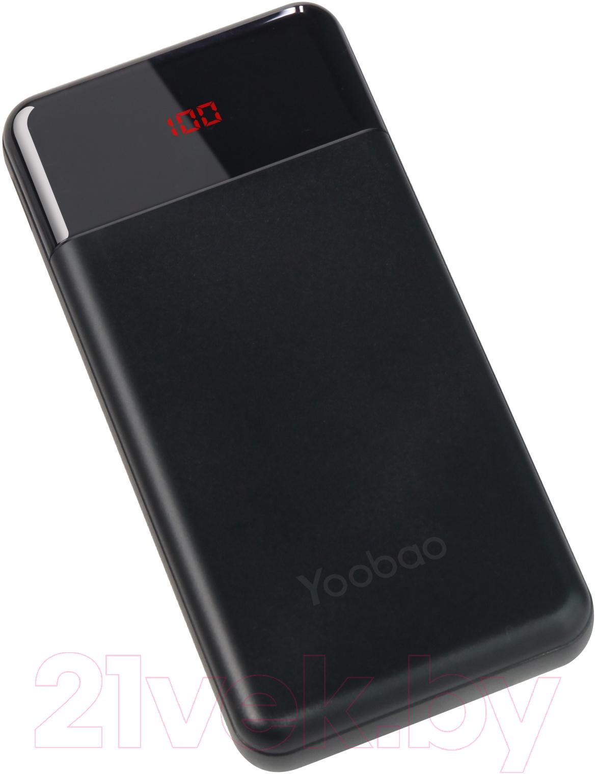 Купить Портативное зарядное устройство Yoobao, Power Bank PD 30W (черный), Китай