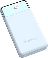 Портативное зарядное устройство Yoobao Power Bank PD 30W (синий) -
