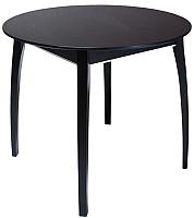 Обеденный стол ТехКомПро Арека К900 Ножка 6 (бук/тон венге) -