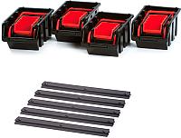 Стенд для инструмента Prosperplast Settruck NPST16-R395 (красный) -