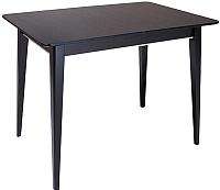 Обеденный стол ТехКомПро Арека ПР Ножка 7 800x1200(1600)x760 (бук/тон венге) -
