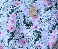 Пеленка Пеленкино Моей доченьке / Mus19004 (цветы) -