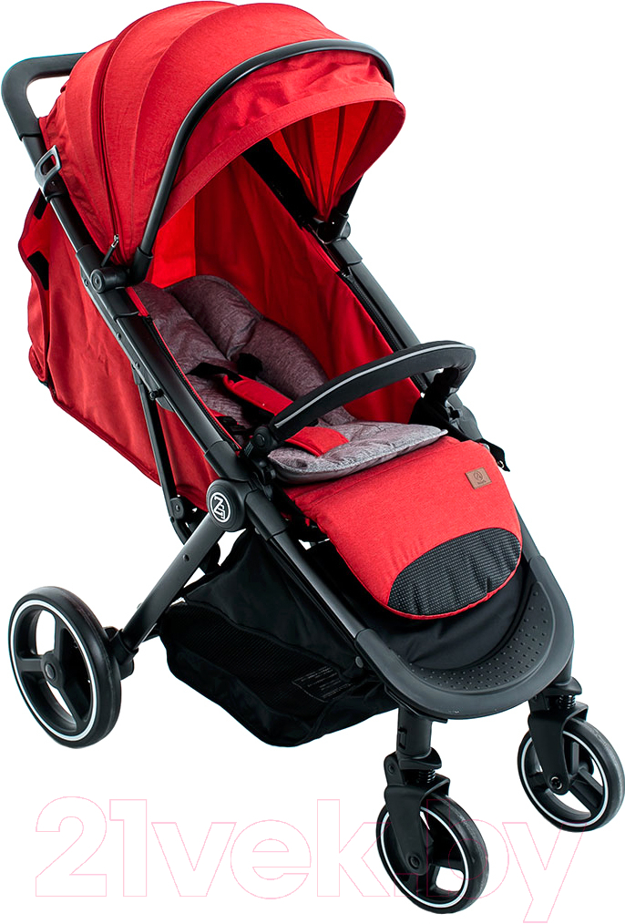 Купить Детская прогулочная коляска Babyzz, B100 (красный), Китай
