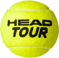 Набор теннисных мячей Head 3B HEAD Tour 6 DZ / 570703 -