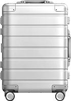 Чемодан на колесах Xiaomi 90 Points Metal Luggage 20'' / XNA4034RT (серебристый) -