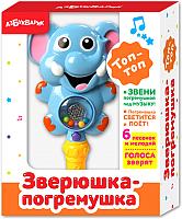 Развивающая игрушка Азбукварик Зверюшка-погремушка. Топ-топ / AZ-2239 -
