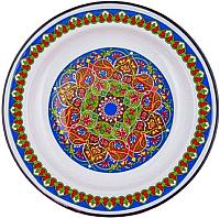 Блюдо СтальЭмаль Орнамент Арабский С0808.0*70 -