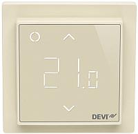 Терморегулятор для теплого пола Devi DEVIreg Smart с Wi-Fi (бежевый) -