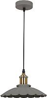 Потолочный светильник Camelion PL-427SS C65 / 13042 (серый+бронза) -
