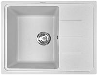 Мойка кухонная ZorG Torino 62 (белый камень) -