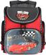 Школьный рюкзак Grizzly RA-970-4 (красный/темно-серый) -