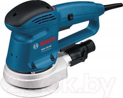 Профессиональная эксцентриковая шлифмашина Bosch GEX 125 AC Professional  (0.601.372.565) - общий вид