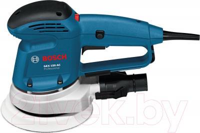 Профессиональная эксцентриковая шлифмашина Bosch GEX 150 AC Professional (0.601.372.768) - вид сбоку
