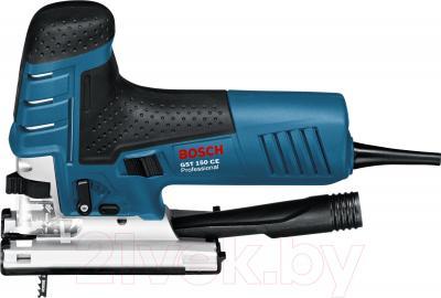 Профессиональный электролобзик Bosch GST 150 CE Professional (0.601.512.000) - вид сбоку