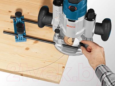 Профессиональный фрезер Bosch GOF 1600 CE Professional (0.601.624.000) - в работе