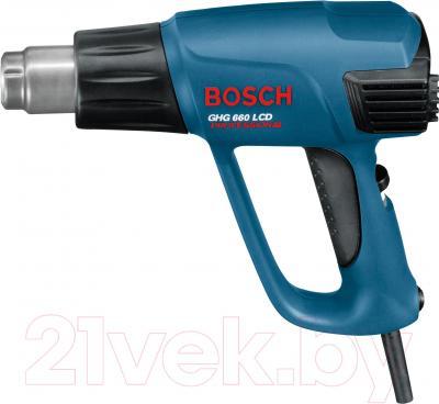 Профессиональный строительный фен Bosch GHG 660 LCD (0.601.944.703) - вид спереди