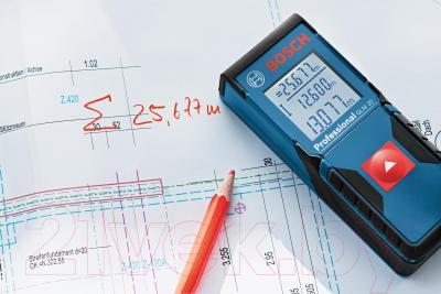 Лазерный дальномер Bosch GLM 30 Professional (0.601.072.500) - в работе