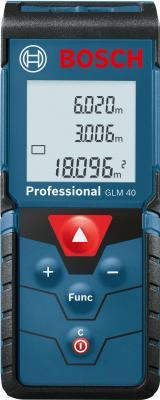 Дальномер лазерный Bosch GLM 40 Professional (0.601.072.900) - вид спереди