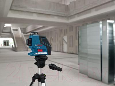 Нивелир Bosch GLL3-80P (0.601.063.30B) - в работе