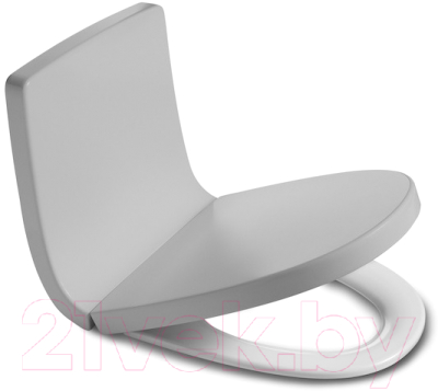 Спинка для унитаза Roca Khroma А80165AF2T (серый)