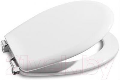 Сиденье для унитаза Roca Viсtoria 05 А801390004 (белое) - общий вид