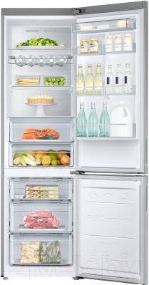 Холодильник с морозильником Samsung RB37J5441SA/WT - внутренний вид