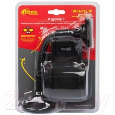 Держатель для портативных устройств Ritmix RCH-015 W