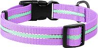 Ошейник Collar Waudog Nylon 45639 (фиолетовый) -