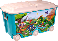 Ящик для хранения Пластишка 431385102 (голубой) -