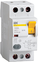 Устройство защитного отключения IEK ВД1-63 2P 63А 30mA / MDV10-2-063-030 -