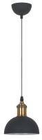 Потолочный светильник Camelion PL-601S C67 / 13100 (черный+старинная медь) -
