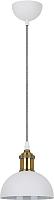 Потолочный светильник Camelion PL-601S C69 / 13102 (белый+старинная медь) -