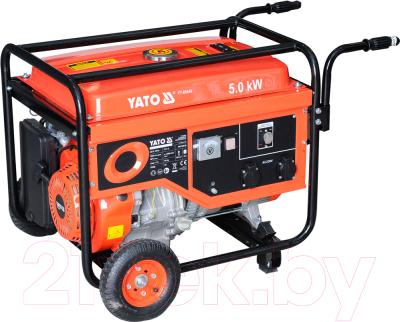 Бензиновый генератор Yato YT-85440