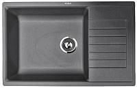 Мойка кухонная ZorG Dello 78 (черный опал) -