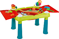 Игровой стол Keter Sand & Water table Песок и вода / 231587 (бирюзовый/зеленый/красный) -