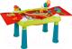 Развивающий игровой стол Keter Sand & Water table Песок и вода / 231587 (бирюзовый/зеленый/красный) -