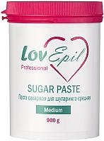 Паста для шугаринга LovEpil Medium сахарная (900г) -