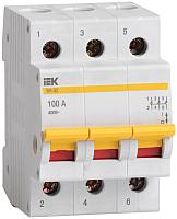 Выключатель нагрузки IEK ВН-32 3Р 40А / MNV10-3-040 (мини-рубильник) -