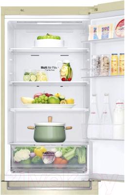 Холодильник с морозильником LG GA-B459SEQZ