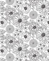 Простыня Samsara White Flowers 90Пр-3 -
