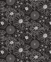 Простыня Samsara Black Flowers 90Пр-4 -