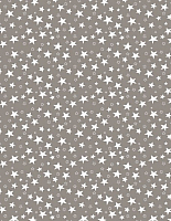 Простыня Samsara Stars Grey 90Пр-15 -