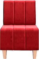 Кресло мягкое Brioli Руди полоса (Luna 36) -