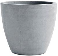 Кашпо Keter Beton Round XL / 242851 (серый) -