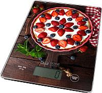 Кухонные весы Home Element HE-SC932 (ягодный пирог) -